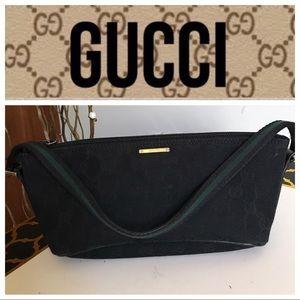 Authentic Gucci black mini bag